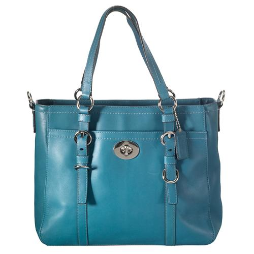 Coach Chelsea Leather Convertible Tote