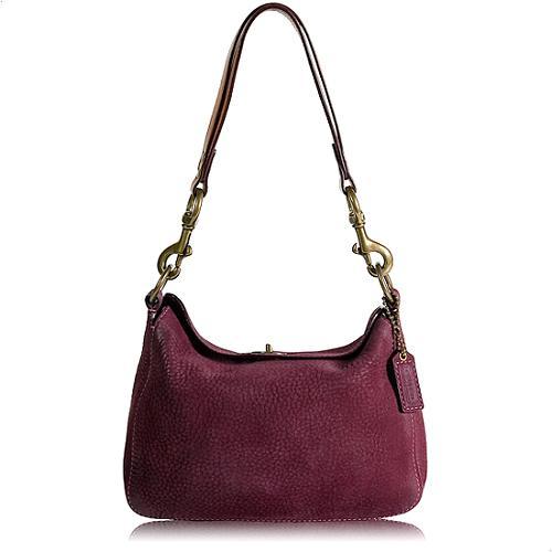 Coach Chelsea Nubuc Shoulder Handbag
