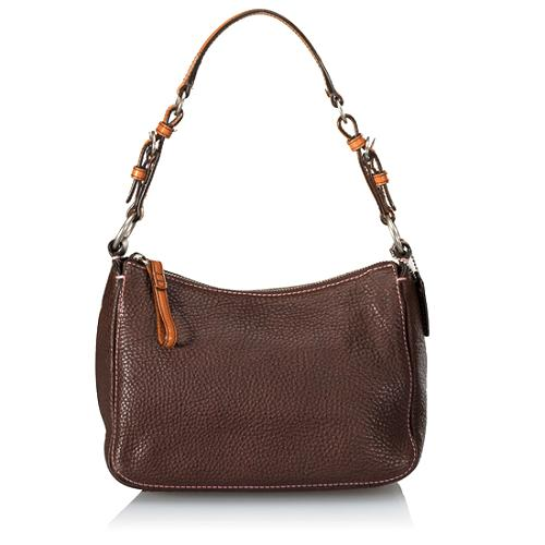 Coach Chelsea Pebbled Leather Small Shoulder Handbag
