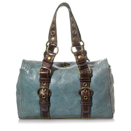 Coach Chelsea Vintage Leather Satchel Handbag