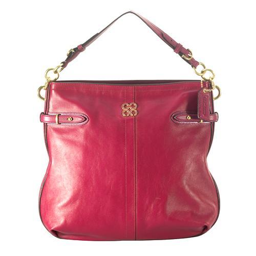 Coach Colette Leather Hobo Handbag