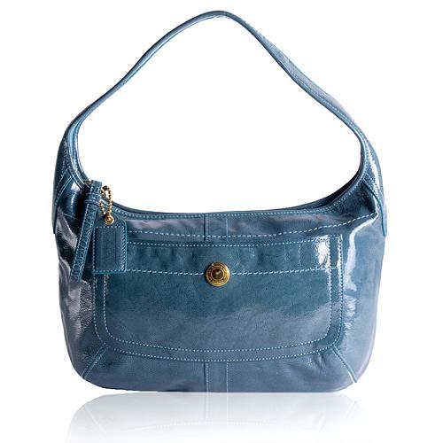 Coach Ergo Patent Leather Hobo Handbag