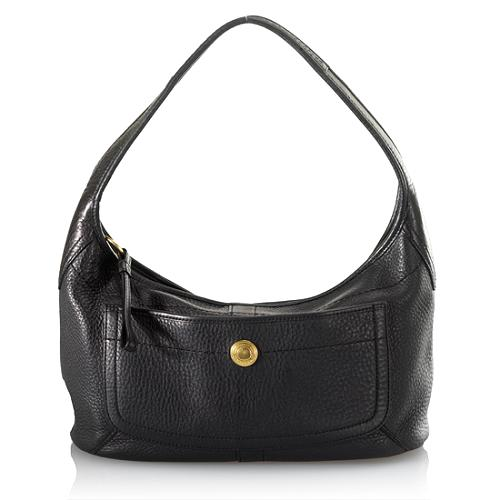 Coach Ergo Pebble Leather Hobo Handbag