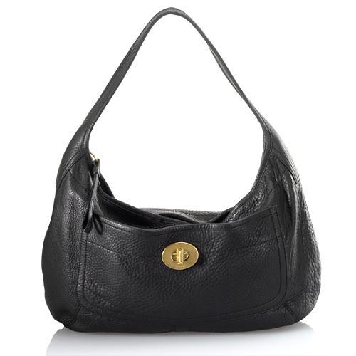 Coach Ergo Pebbled Leather Large Hobo Handbag