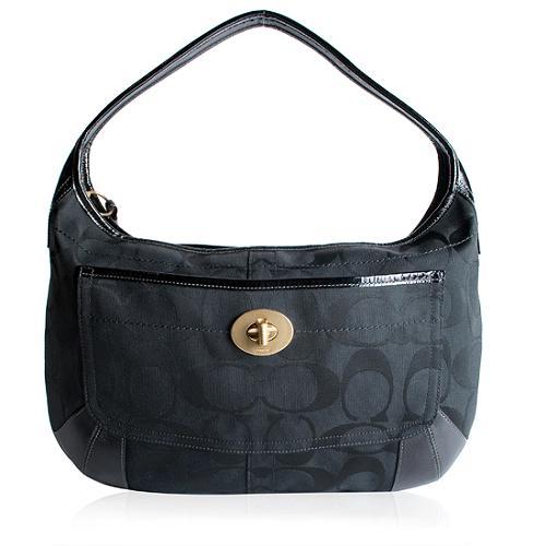 Coach Ergo Signature Large Hobo Handbag