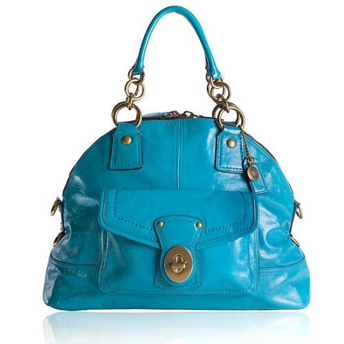 Coach Francine Domed Satchel Handbag