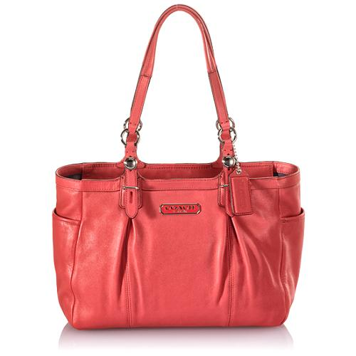 Coach Gallery Leather East/West Tote