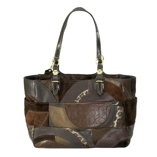 Coach Gallery Mosaic Patchwork Tote