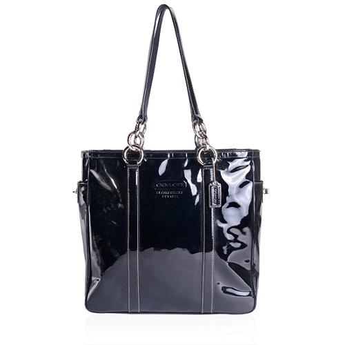 Coach Gallery Patent Leather North/South Tote