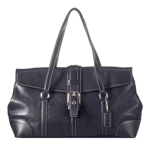 Coach Hamilton Leather Satchel Handbag - FINAL SALE