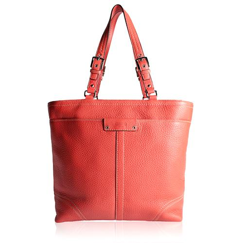 Coach Hamilton Pebbled Leather Lunch Tote