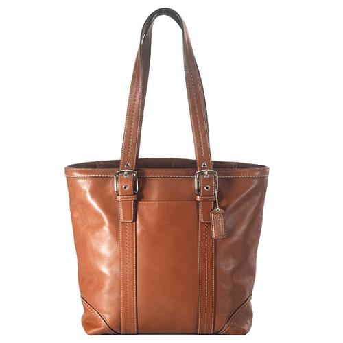 Coach Hamptons Leather Lunch Tote