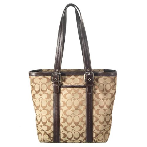 Coach Hamptons Signature Lunch Tote