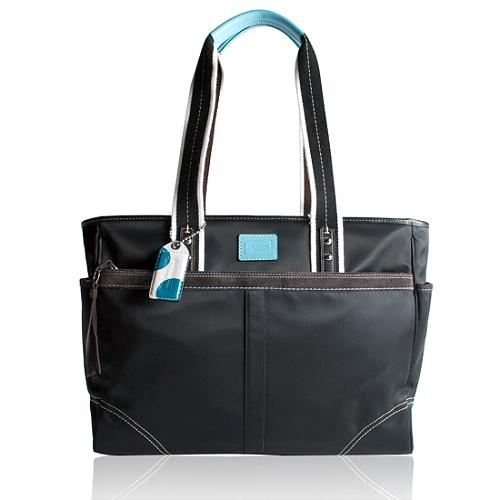 Coach Hamptons Weekend Large Business Tote