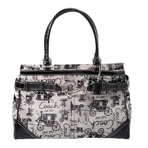 Coach Horse & Carriage Carryall Tote
