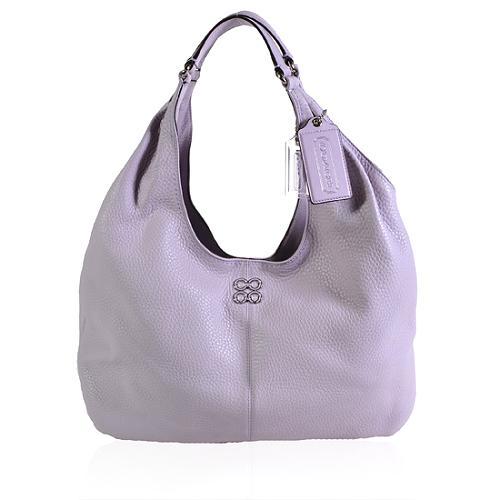 Coach Julia Leather Hobo Handbag