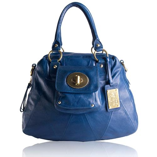 Coach Kira Leather Satchel Handbag