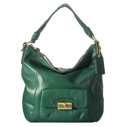 Coach Kristin Leather Hobo Handbag