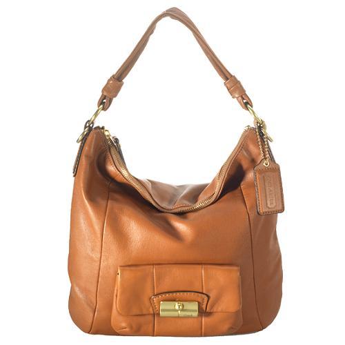 Coach Kristin Leather Hobo Handbag