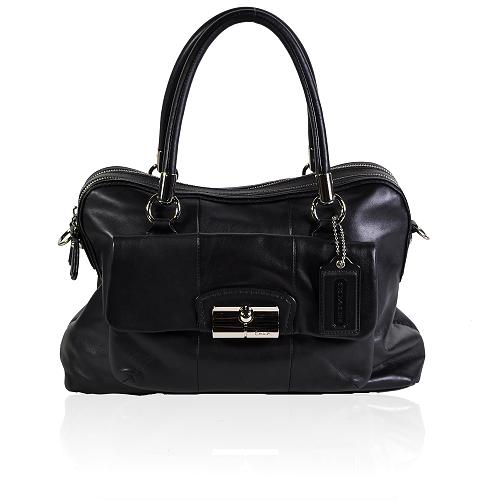 Coach Kristin Leather Large Satchel Handbag