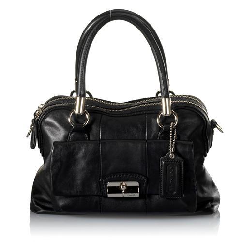 Coach Kristin Leather Satchel Handbag
