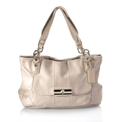 Coach Kristin Leather Zip Top Tote