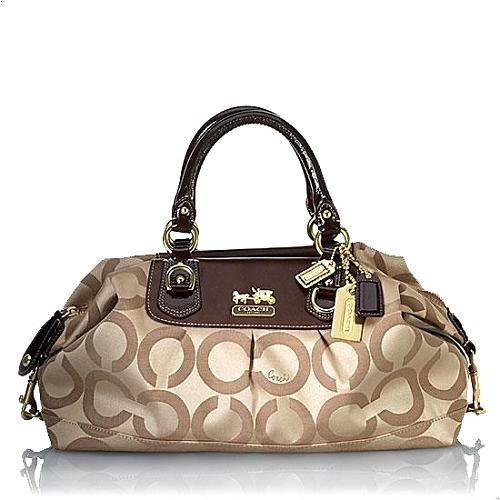 Coach Large Sabrina Satchel Handbag - FINAL SALE