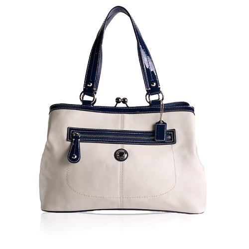 Coach Laura Leather Carryall Tote