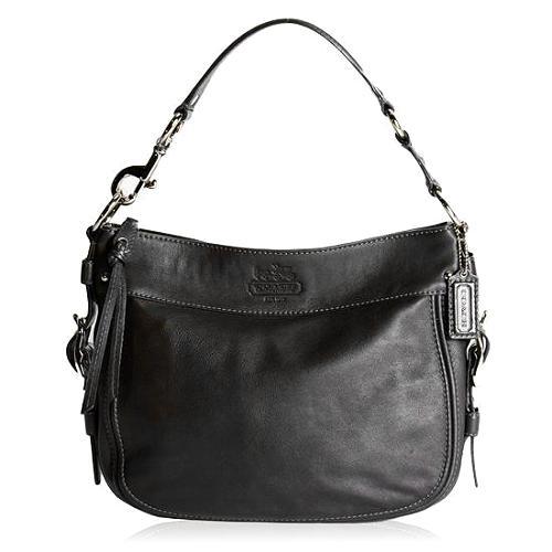 Coach Leather Convertible Large Zoe Hobo Handbag