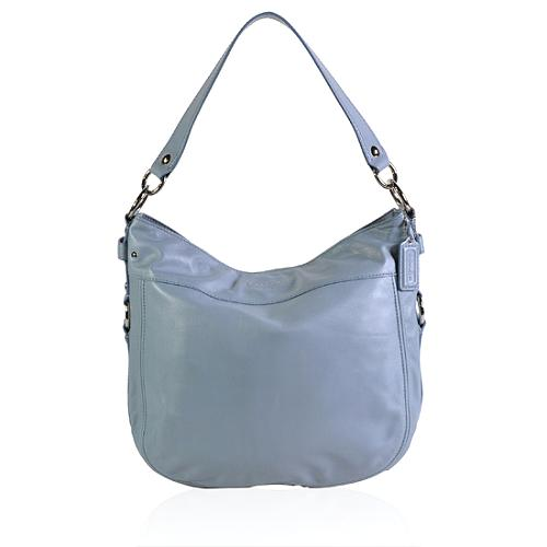 Coach Leather Convertible Large Zoe Hobo Handbag