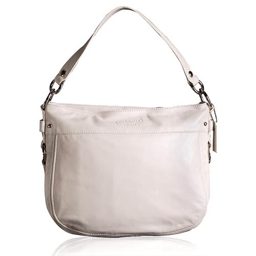 Coach Leather Convertible Zoe Hobo Handbag