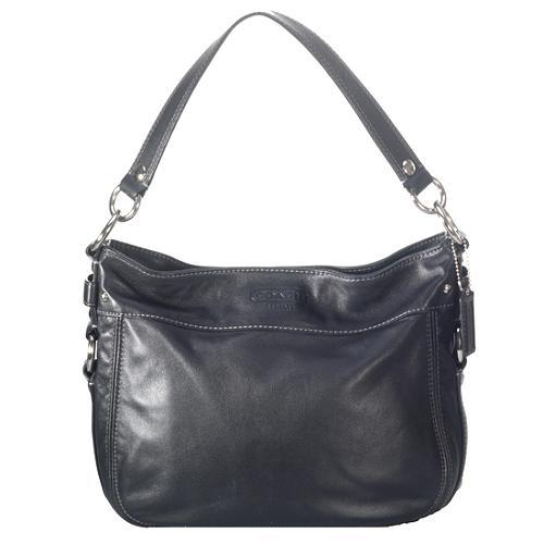 Coach Leather Convertible Zoe Hobo Handbag