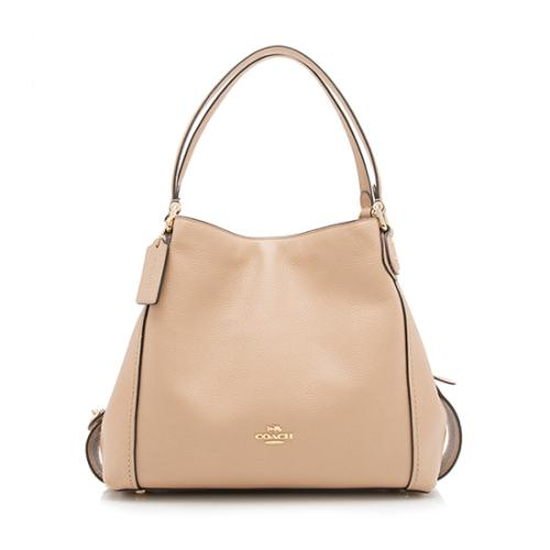 Coach Leather Edie Shoulder Bag 31