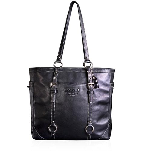Coach Leather Gallery N/S Tote