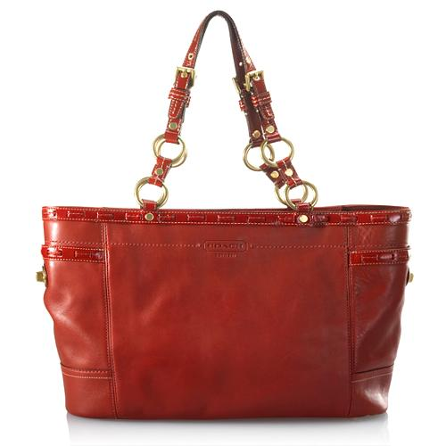 Coach Leather Gallery Tote