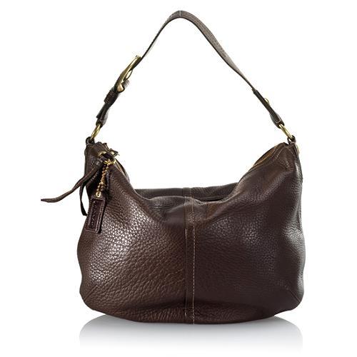 Coach Leather Hobo Handbag