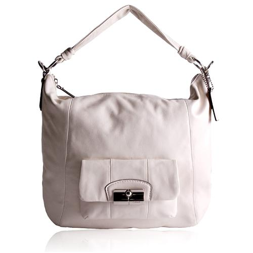 Coach Leather Kristin Hobo Handbag