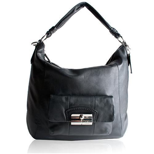 Coach Leather Kristin Large Hobo Handbag