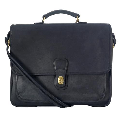 Coach Leather Metropolitan Briefcase