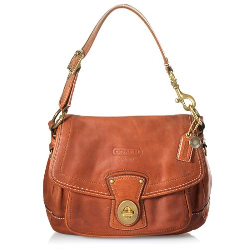 Coach Legacy Ali Leather Flap Shoulder Handbag