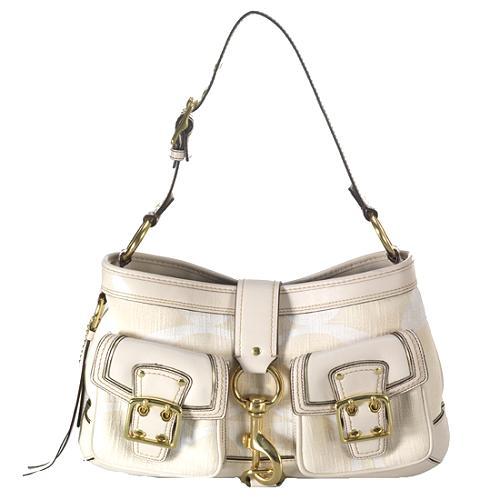 Coach Legacy Cotton Shoulder Handbag