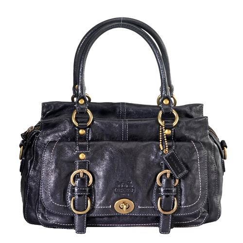 Coach Legacy Garcia Leather Satchel Handbag