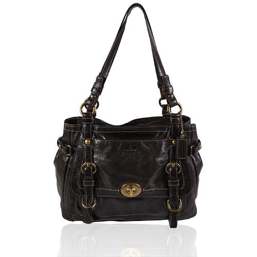 Coach Legacy Garcia Leather Tote