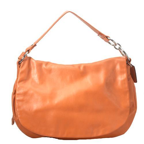 Coach Legacy Leather Ali Flap Shoulder Handbag