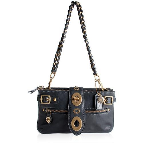 Coach Legacy Leather Bridgit Shoulder Handbag