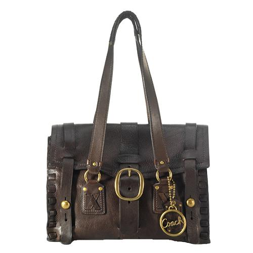 Coach Legacy Leather Karee Satchel Handbag