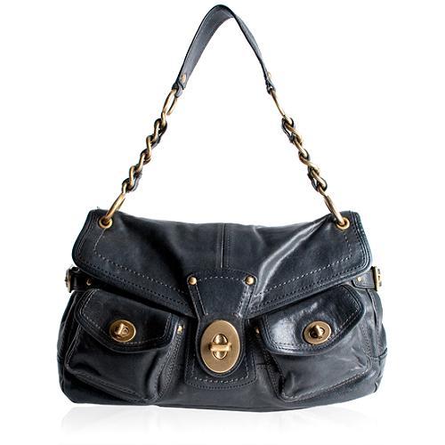 Coach Legacy Leather Leigh Shoulder Handbag