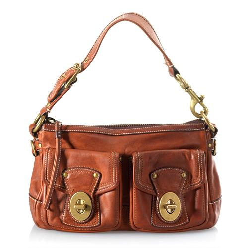 Coach Legacy Leather Shoulder Handbag