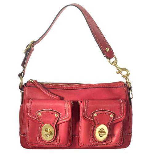 Coach Legacy Leather Shoulder Handbag