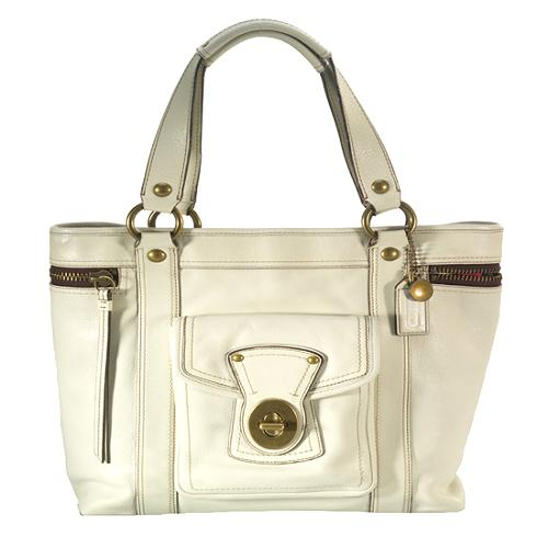 Coach Legacy Leather Slim Tote